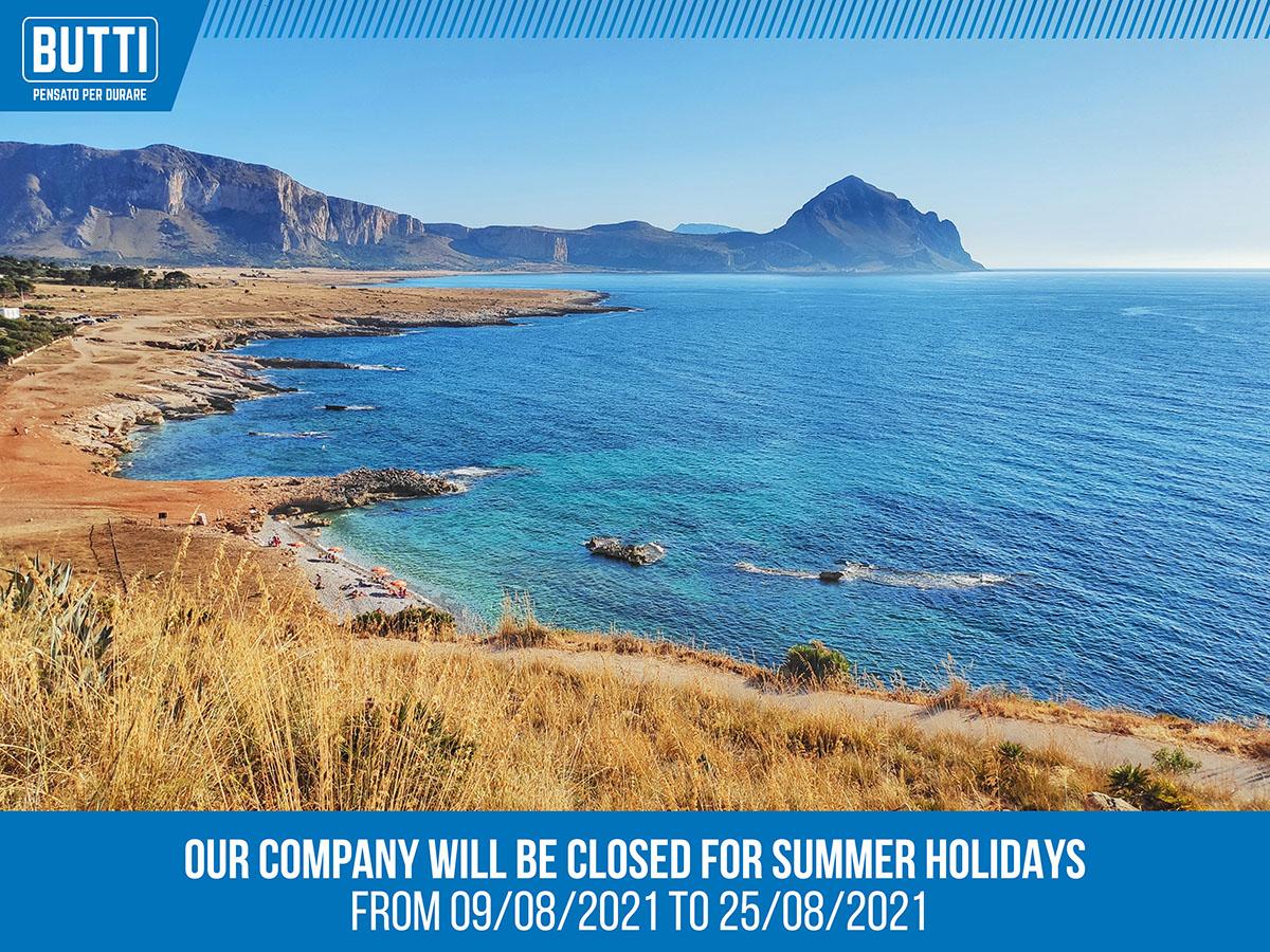 Butti vous souhaite des bonnes vacances!